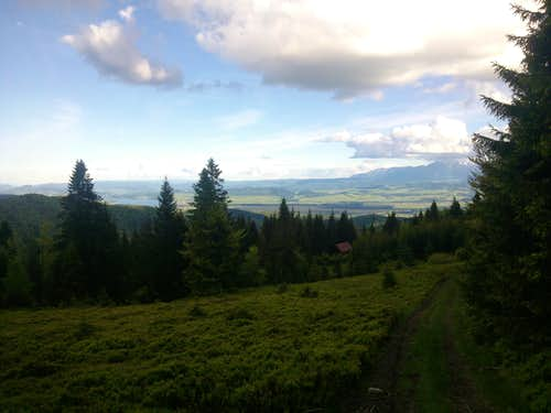 View over Kotlina Nowotarska