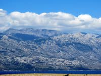 Velebit from Rtina