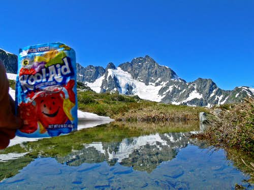 Oh Yeah! Kool Aid Lake Reflection with Kool Aid
