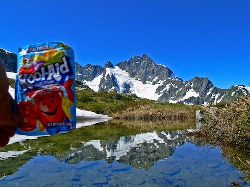 Oh Yeah! Kool Aid Lake Reflection with Kool Aid