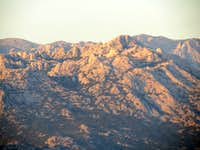 Last rays of sun in Velebit