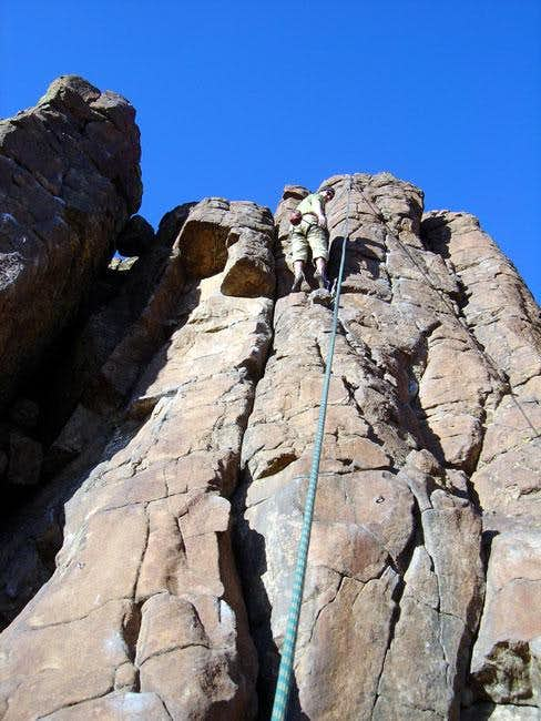 "Me on the 5.8 ""New Route""..."