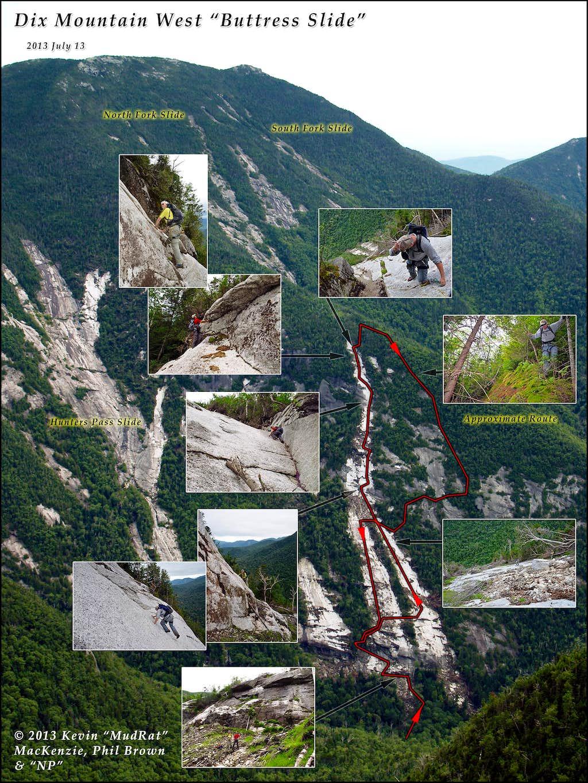 Mosaic Dix Mountain Buttress Sslide