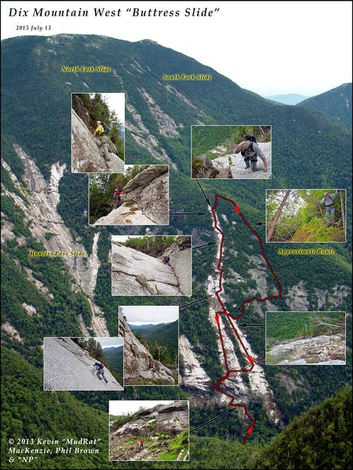 Dix Mountain's Buttress Slide: A Monster on the Mountain