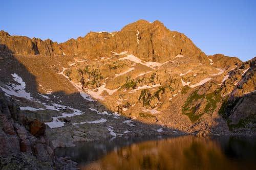 Morning Light on Mt Powell