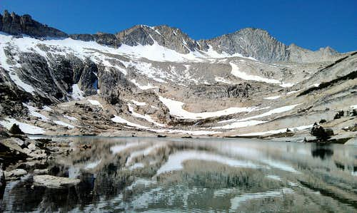 Mount Conness from Conness Lakes