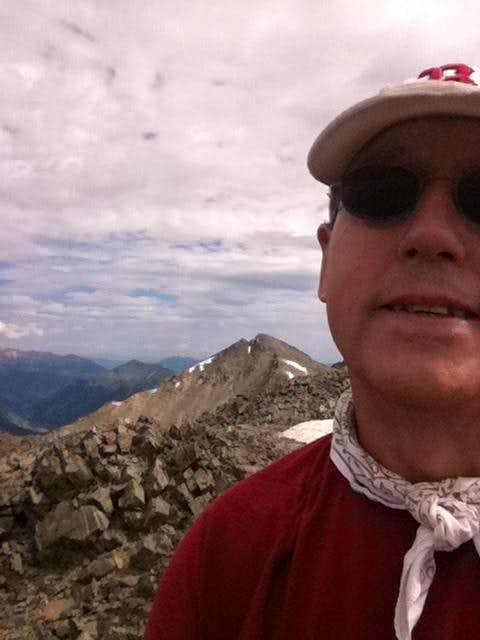 Atlantic Peak Summit Shot