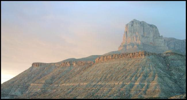 Sunset on Jan 13th, 2005