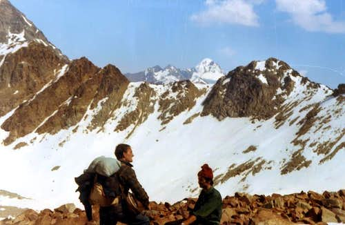 Arbolle Pass to Mont des Laures & Lussert Crest 1971