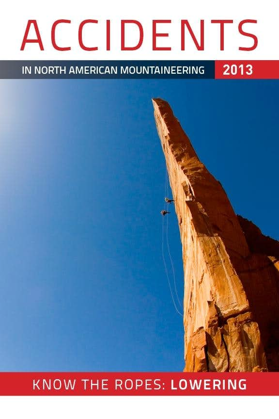 Accidents in North American Mountaineering 2013