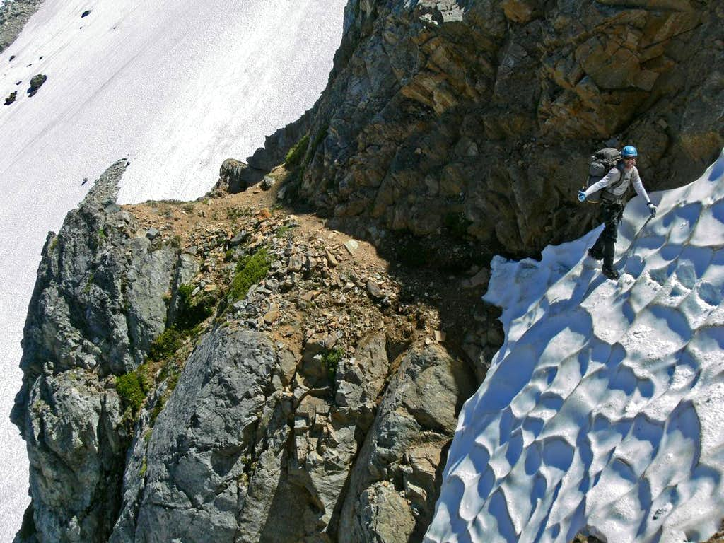 Crossing the Second Snowfield