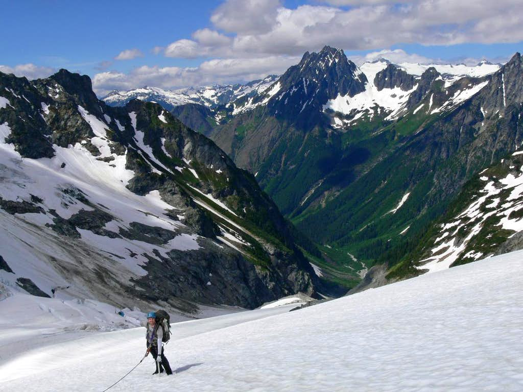 Eric with the Middle Cascade Valley