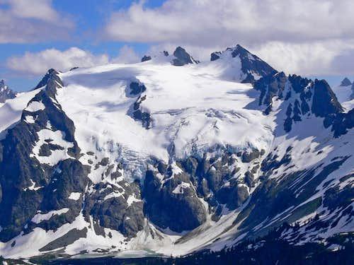 Old Guard and Sentinel Peak