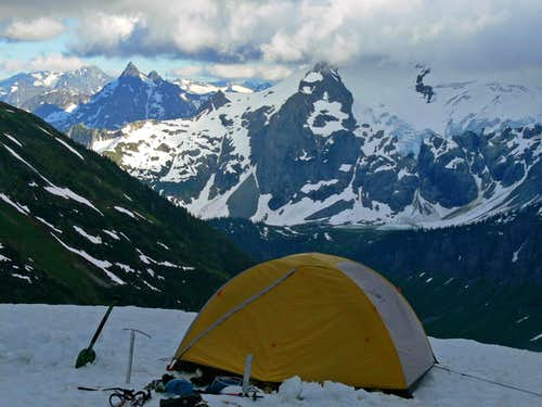 Our Camp on Mount Formidable