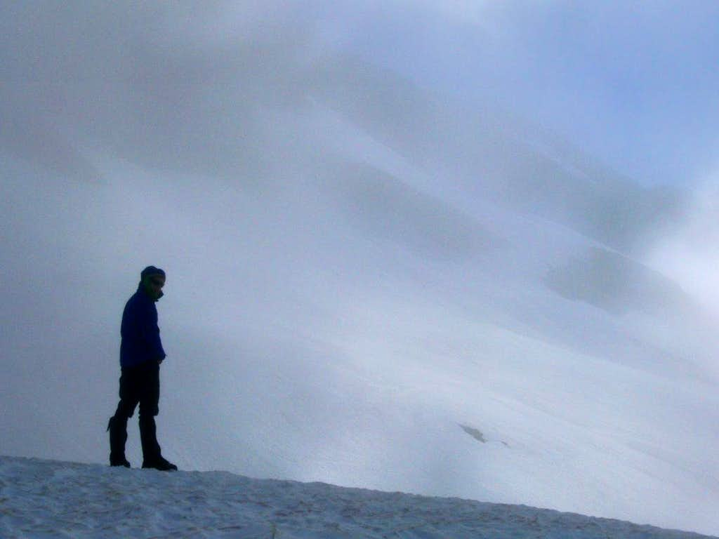 Standing at the Edge of Cloudiness
