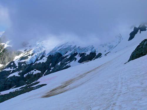 Following the Ski Tracks