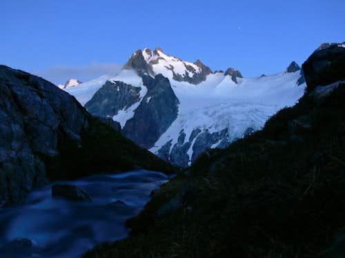 Dome Peak during Evening