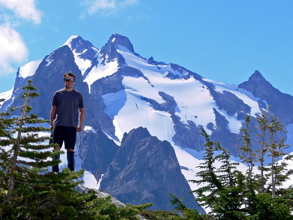 Yours Truly with Dome Peak