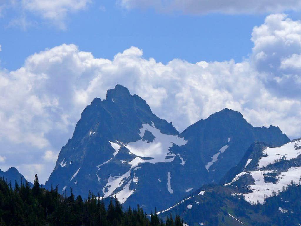 Agnes Mountain's West Face