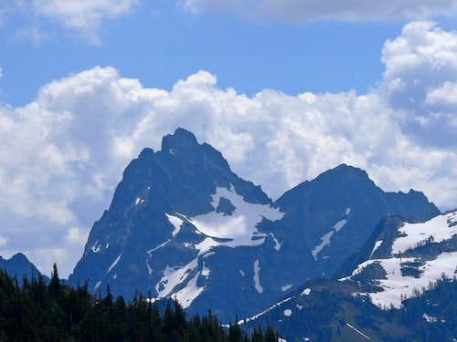 Agnes Mountain s West Face