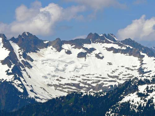 Mount Buckindy East Face
