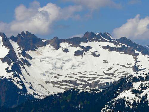 Mount Buckindy East Face