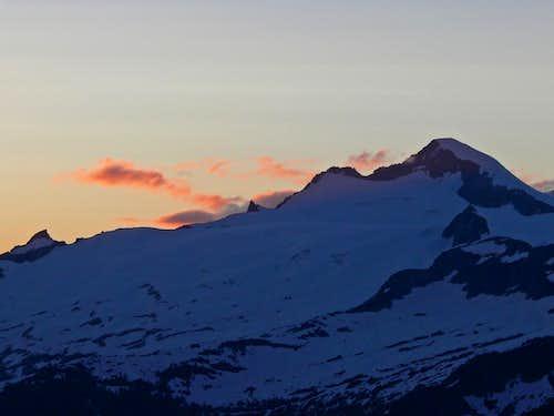 Eldorado Peak Sunset