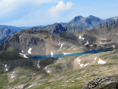 Columbine Lake & Twin Sisters