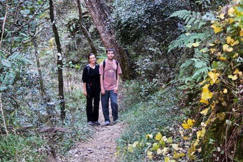 Hiking at Royal Natal N.P.