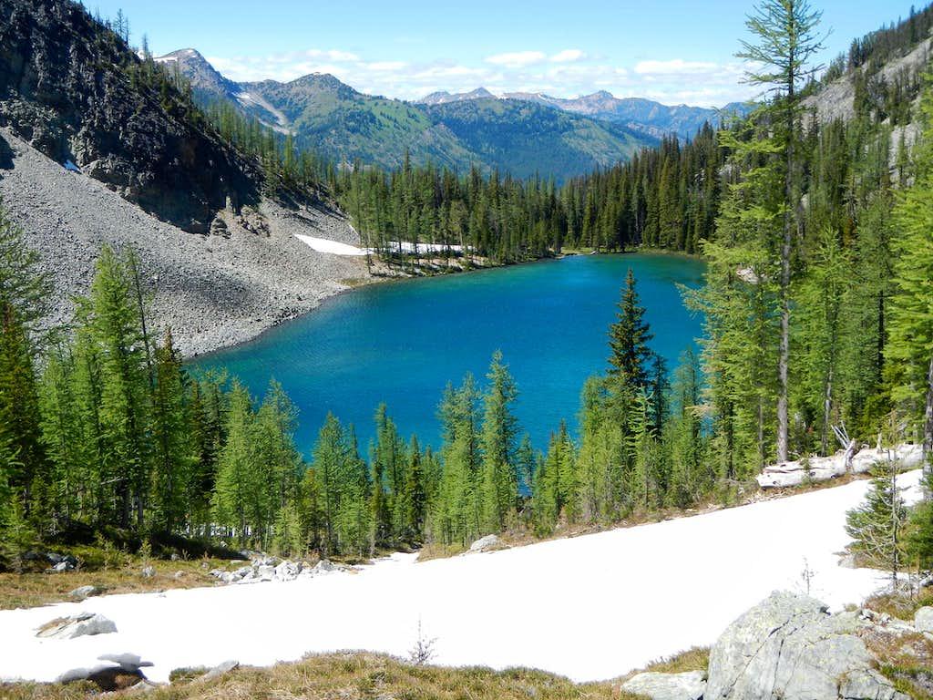 Above Freds Lake