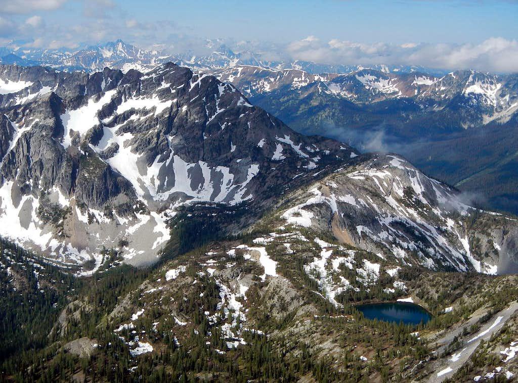 Mount Rolo and Lake Doris
