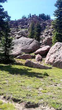 Pile of Summit Boulders