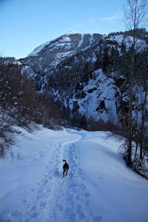Popular snow shoe destination