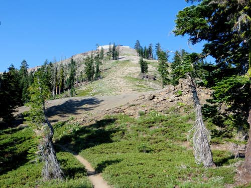 Northeast route to Mount Lincoln summit