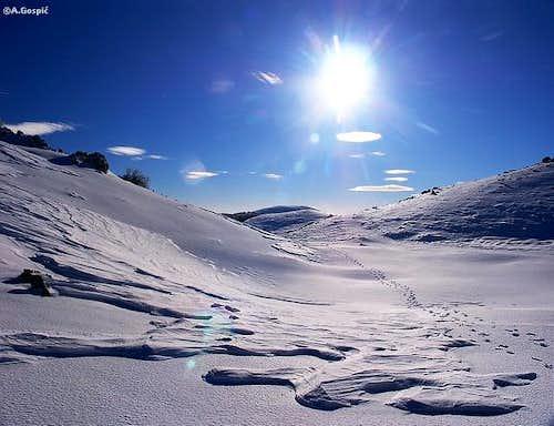 Winter scenery on Rozano ,...
