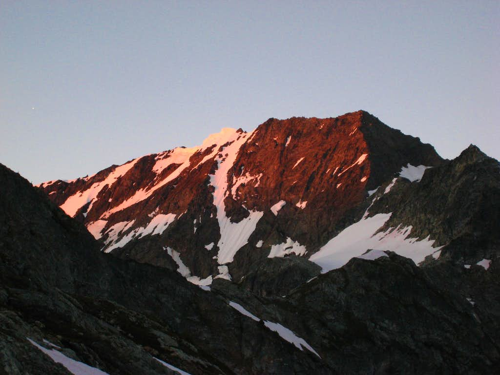 Sunrise on Spider Mountain