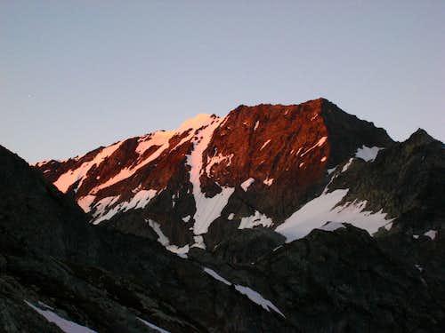 Sunrise on Spider Mountain