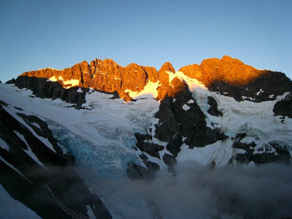 Sunrise on Mount Formidable