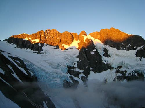 Sunrise on Mount Formidable