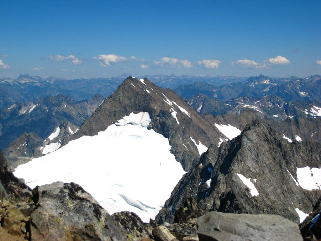 Spider Mountain from the summit