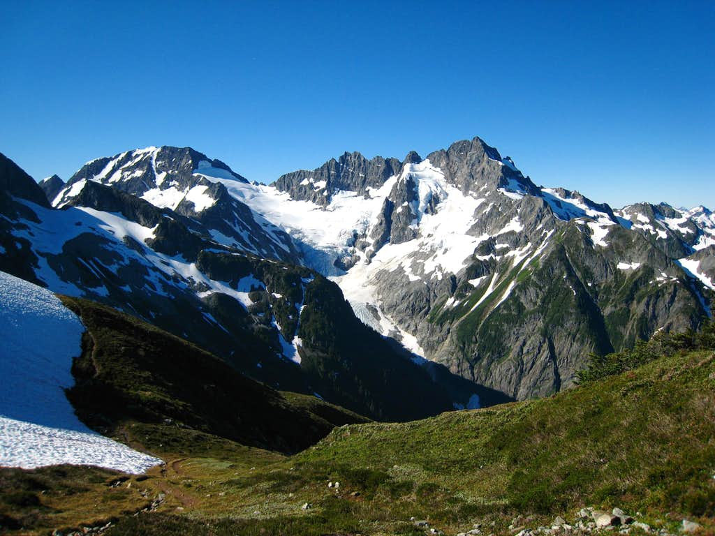 Mount Formidable from Cache Col