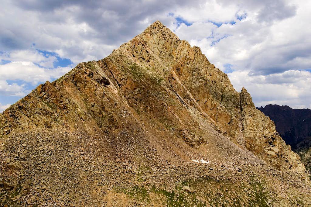 Dwarf Pyramid, just East of Mt Powell
