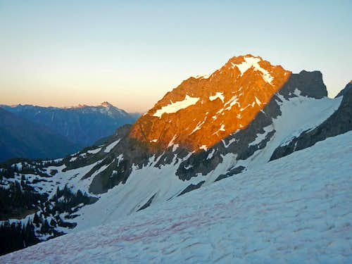Alpenglow on Magic Mountain