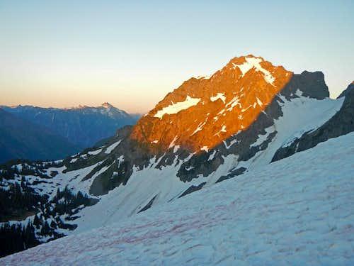 Alpenglow on Magic Mountain