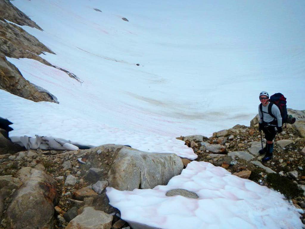 Taking the Ramp onto the Glacier