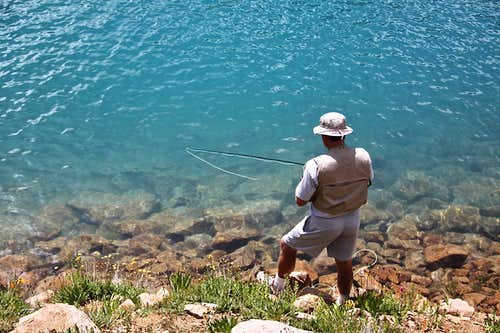 Fisherman - Hope Lake