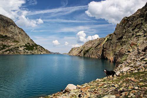 Along the Hope Lake