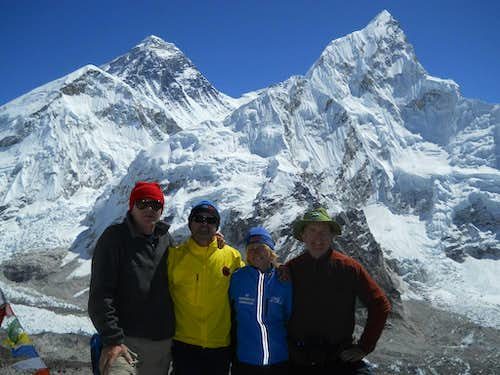 View of Everest from Kala Patthar