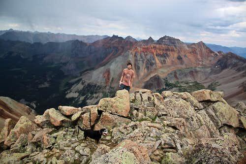 Summit NE Ridge of San Miguel