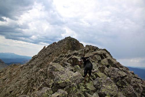 NE ridge of San Miguel